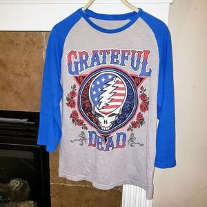 Other - GRATEFUL DEAD QUARTER SLEEVE GRAPHIC SHIRT